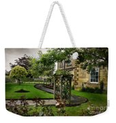 English Country Garden And Mansion - Series IIi. Weekender Tote Bag