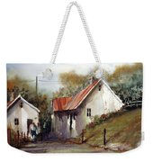 English Country Lane Weekender Tote Bag