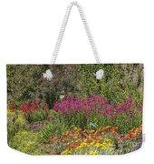 English Garden In Summertime Weekender Tote Bag
