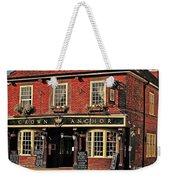 English Pub Weekender Tote Bag