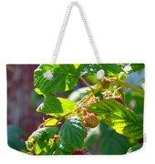 English Raspberries Weekender Tote Bag