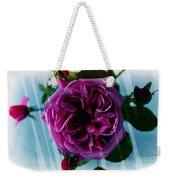 English Rose - Purple Rose - Fragrant Rose Weekender Tote Bag
