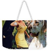 English Setter Art Canvas Print - Come September Movie Poster Weekender Tote Bag