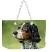English Setter Dog Weekender Tote Bag