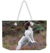 English Springer Spaniel Dog Weekender Tote Bag