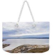 Enid Lake - Winter Landscape Weekender Tote Bag