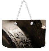 Enigma Numbers Weekender Tote Bag