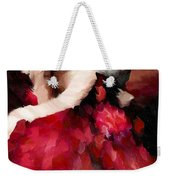 Enigma Of A Geisha - Abstract Realism Weekender Tote Bag