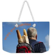 Enjoy Your Breakfast Weekender Tote Bag