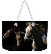 Enlightened Equestrian Weekender Tote Bag