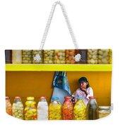 Ensenada Olive Stand 07 Weekender Tote Bag