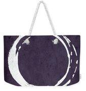 Enso No. 107 Purple Weekender Tote Bag