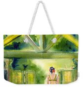 Enter The Garden Weekender Tote Bag