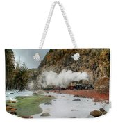 Entering Cascade Canyon Weekender Tote Bag