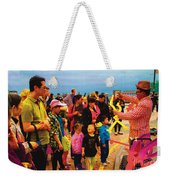 Entertainer Weekender Tote Bag