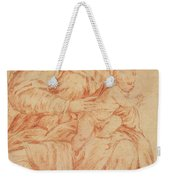 Enthroned Madonna And Child Weekender Tote Bag
