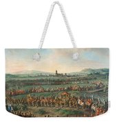 Entrance Of The Emperor Franz I Stephan And His Son Joseph II Into Frankfurt Weekender Tote Bag
