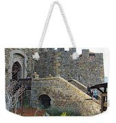 Entrance To Castello Di Amorosa In Napa Valley-ca Weekender Tote Bag
