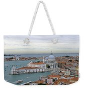 Entrance To Grand Canal Venice Weekender Tote Bag