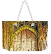 Entrance To Middle Earth Weekender Tote Bag