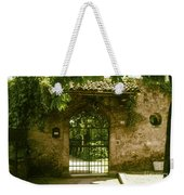 Entrance To Romeo And Juliet House Weekender Tote Bag