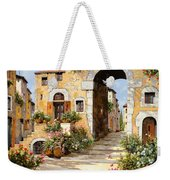 Entrata Al Borgo Weekender Tote Bag by Guido Borelli