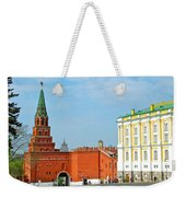 Entry Gate At Armory Museum Inside Kremlin Wall In Moscow-russia Weekender Tote Bag