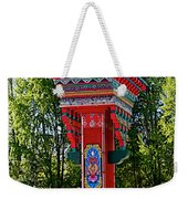 Entry Gate By Potala Palace In Lhasa-tibet Weekender Tote Bag