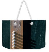 Entry Phone 1 Weekender Tote Bag