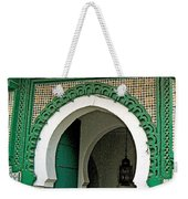 Entry To A Mosque For Men Only In Tangiers-morocco Weekender Tote Bag