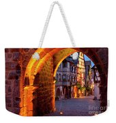 Entry To Riquewihr Weekender Tote Bag by Brian Jannsen