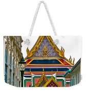 Entryway To Middle Court Of Grand Palace Of Thailand In Bangkok Weekender Tote Bag