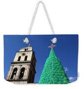 Environmentally Friendly Christmas Tree Weekender Tote Bag