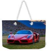 Enzo Ferrari Bold Weekender Tote Bag