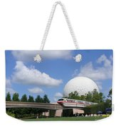 Epcot And The Monorail Ride Weekender Tote Bag