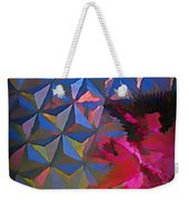 Epcot Centre Abstract Weekender Tote Bag