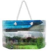 Epcot Globe And Blue Monorail Walt Disney World Photo Art 01 Weekender Tote Bag