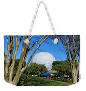 Epcot Globe Walt Disney World Weekender Tote Bag