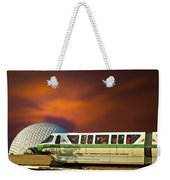 Epcot Riding The Rail Weekender Tote Bag