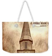 Ephesians 2 14 Weekender Tote Bag