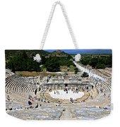 Theater Of Ephesus Weekender Tote Bag