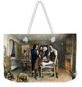 Ephraim Mcdowell, 1809 Weekender Tote Bag