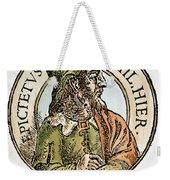 Epictetus Weekender Tote Bag