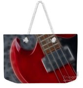 Epiphone Sg Bass-9222-fractal Weekender Tote Bag