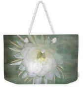 Epiphyllum Oxypetallum - Queen Of The Night Cactus Weekender Tote Bag