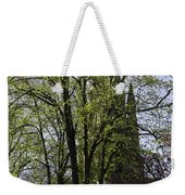 Episcopal Cathedral In Edinburgh Visible Through Trees Weekender Tote Bag