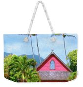 Episcopal Church In Kapaa Weekender Tote Bag