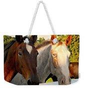 Equestrian Beauties Weekender Tote Bag
