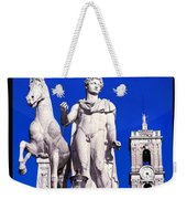 Equestrian Statue At Capitoline Hill Weekender Tote Bag
