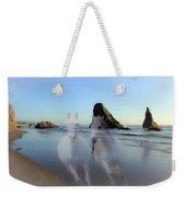 Equine Beach II Weekender Tote Bag